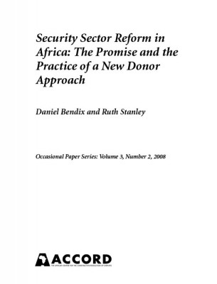 ACCORD - Occasional Paper - 2008-2 - Security Sector Reform in Africa