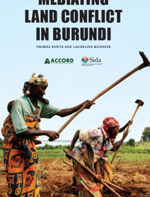ACCORD - Report - Mediating land conflict in Burundi - English