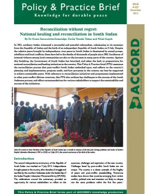ACCORD - PPB - 27 - Reconciliation without regret