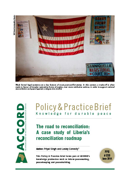 ACCORD - PPB - 30 - The road to reconciliation