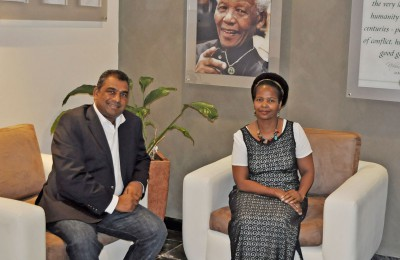 ACCORD hosts senior official from SA Department of International Relations & Cooperation