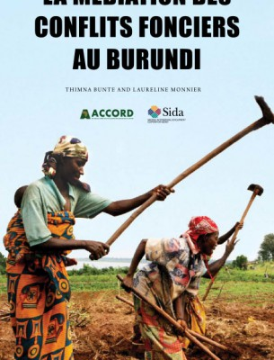 ACCORD - Report - Mediating land conflict in Burundi - French
