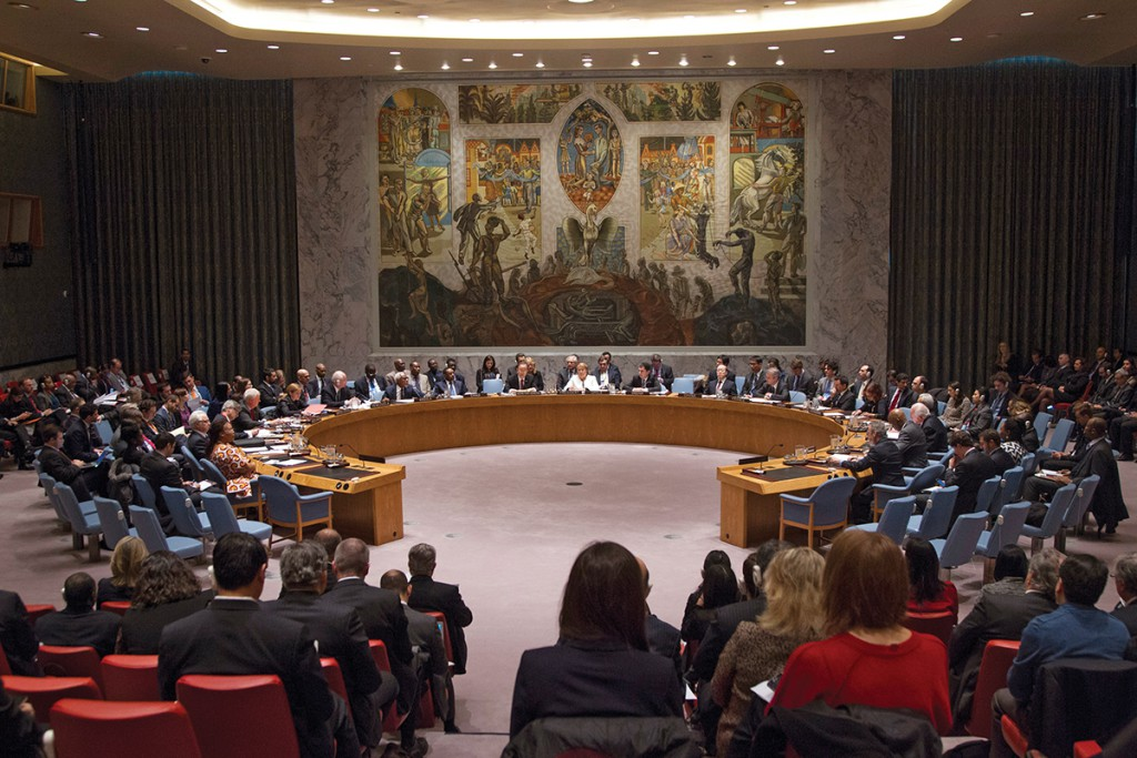 Security Council Meeting Maintenance of international peace and security.