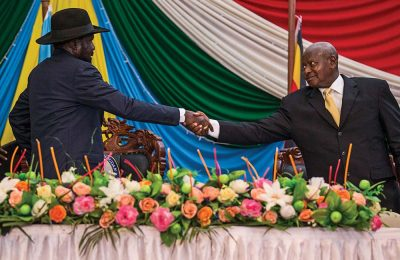 South Sudan Uganda Relations