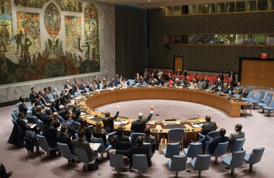 Security Council meeting
