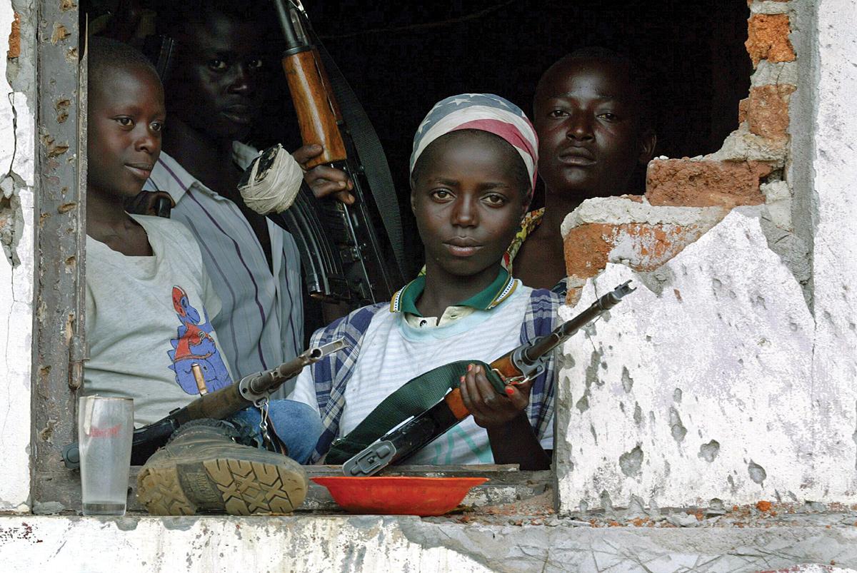 Child soldiering