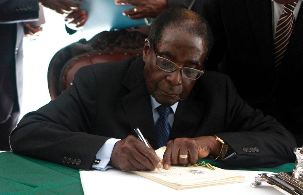 The Place For Amnesty In Zimbabwes Transitional Justice Process