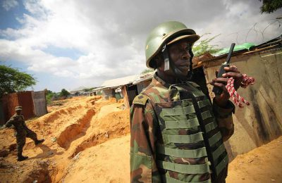 Ugandan platoon
