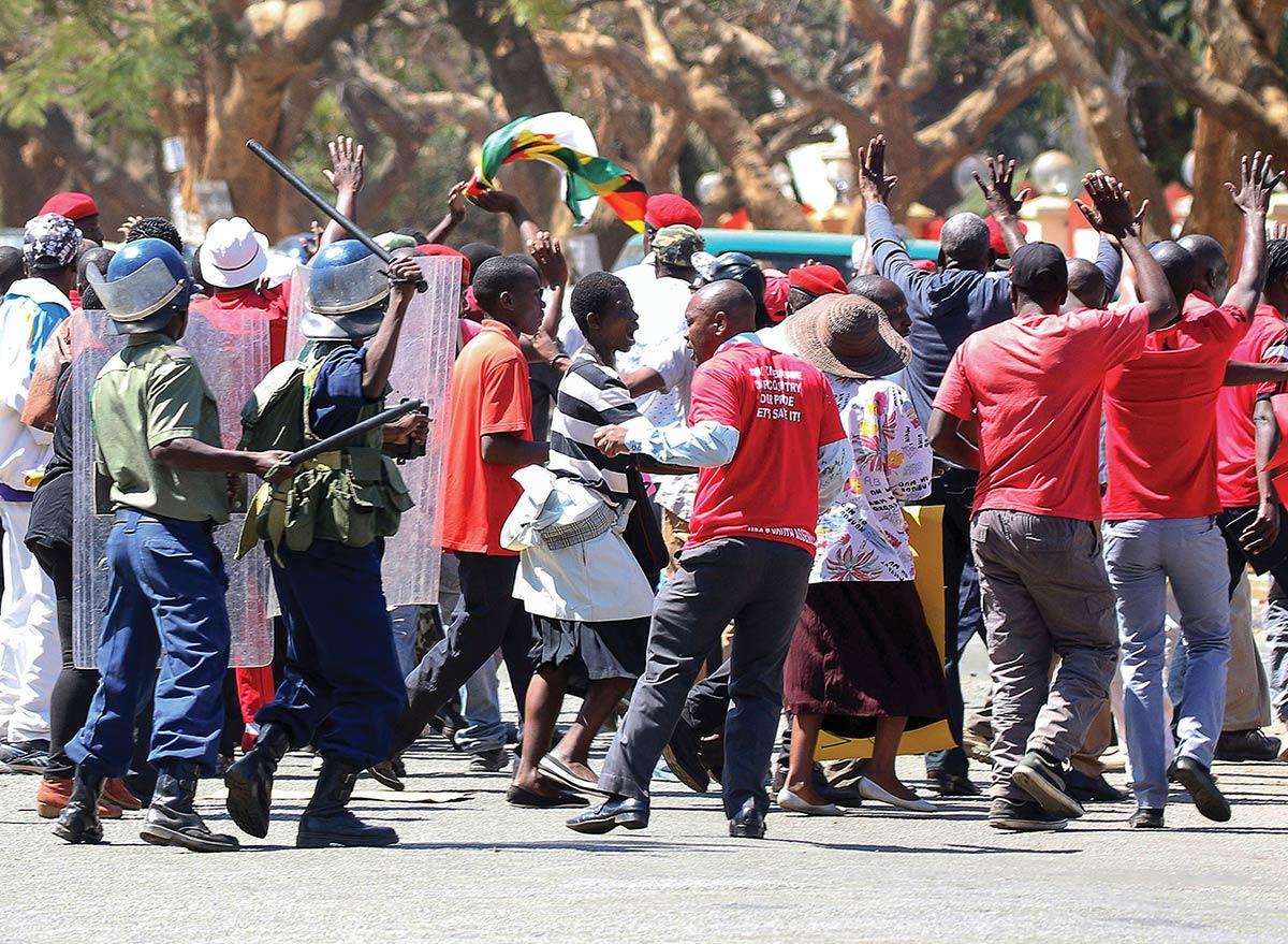 Anti-riot police