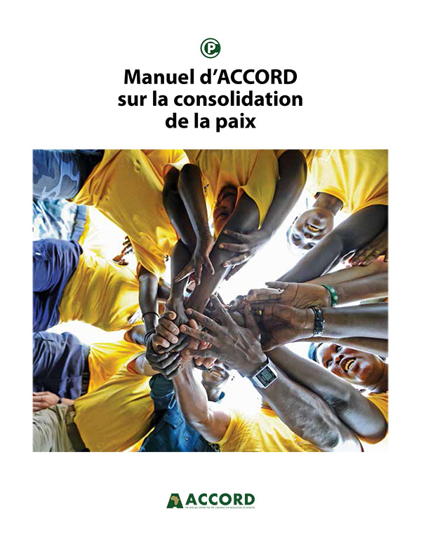 Accord Peacebuilding Handbook French