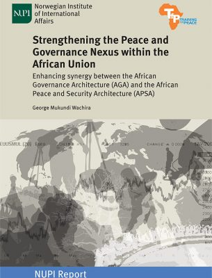 Strengthening Peace Governance