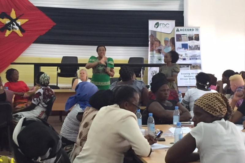 Women Peace Mozambique