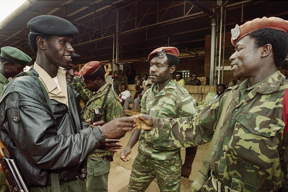 Tutsi Soldier