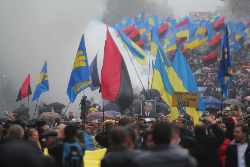Upa March In Kiev