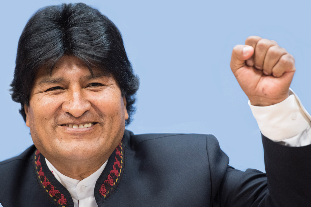 President Of The Plurinational State Of Bolivia