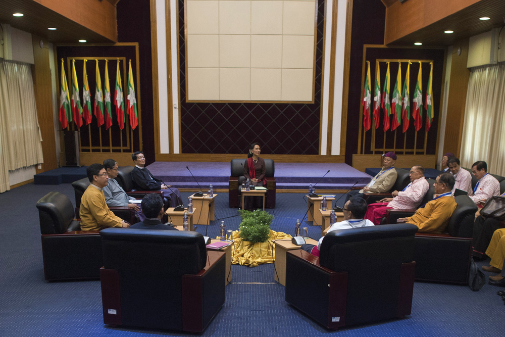 Myanmar's internal mediators