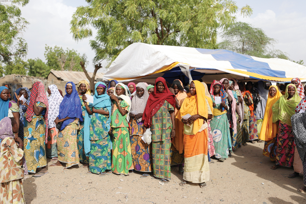 Women With Food Ration Cards