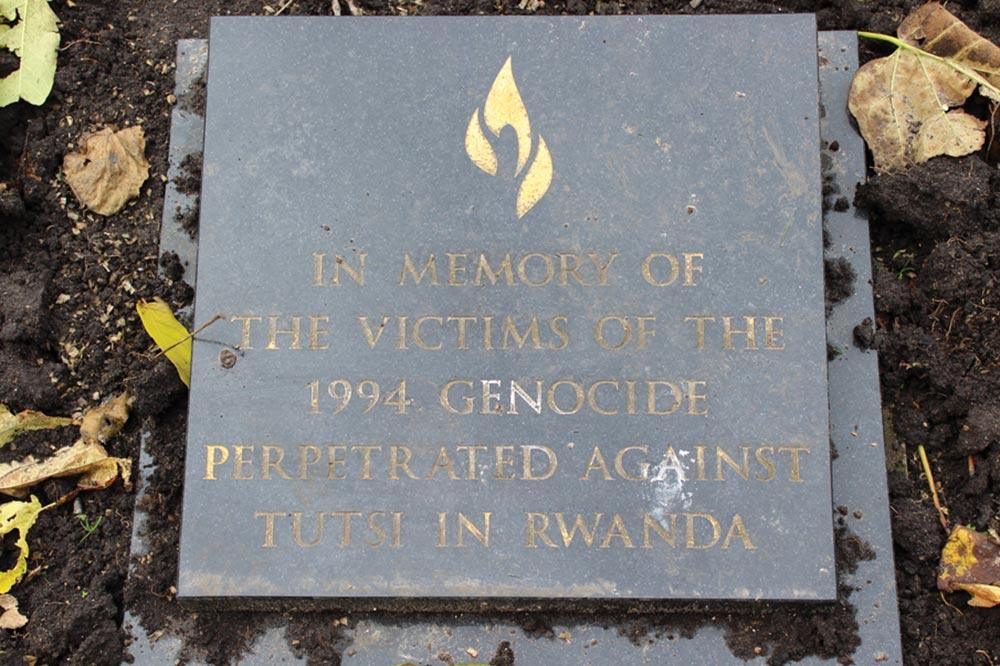 Rwanda Genocide Memorial St Johns Gardens