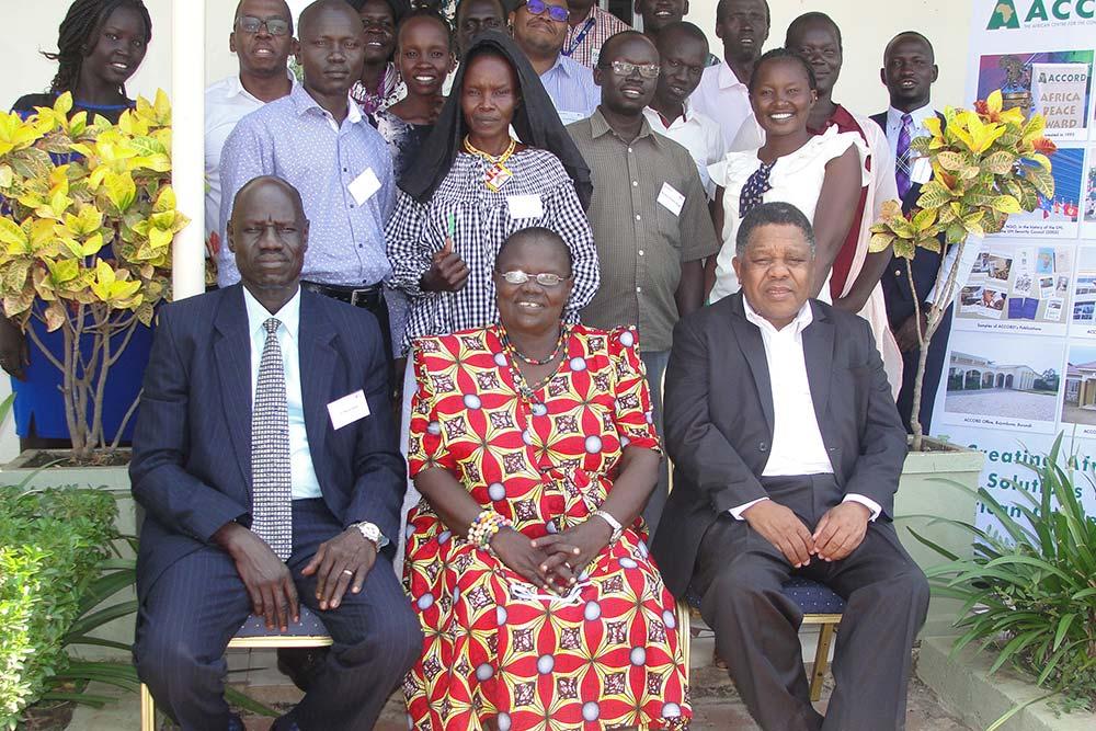 Training South Sudan