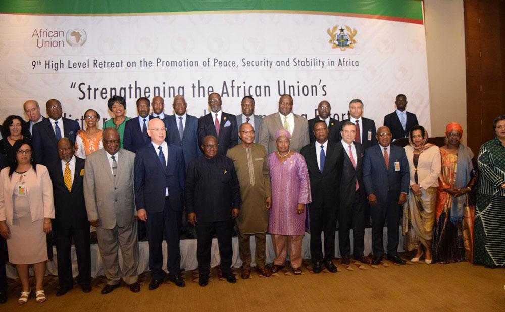 AU High Level Retreat Special Envoys Mediators