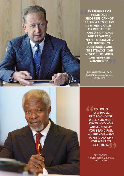 Kofi Annan – Dag Hammarskjöld Annual Lecture