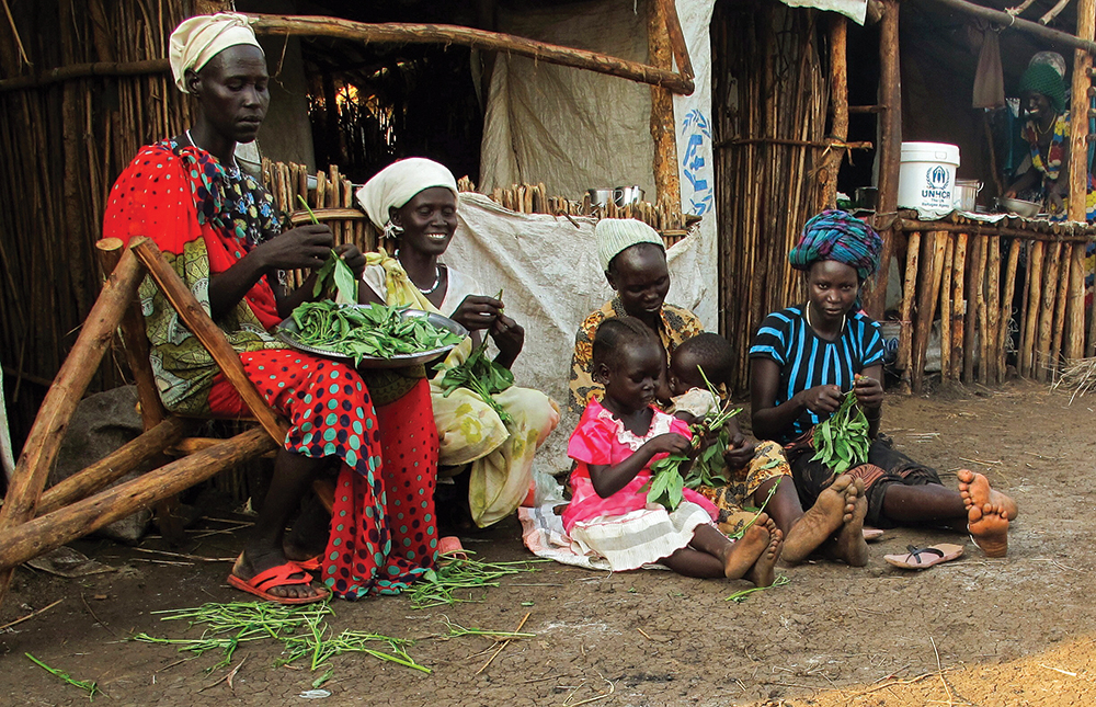 South Sudanese Refugee Women