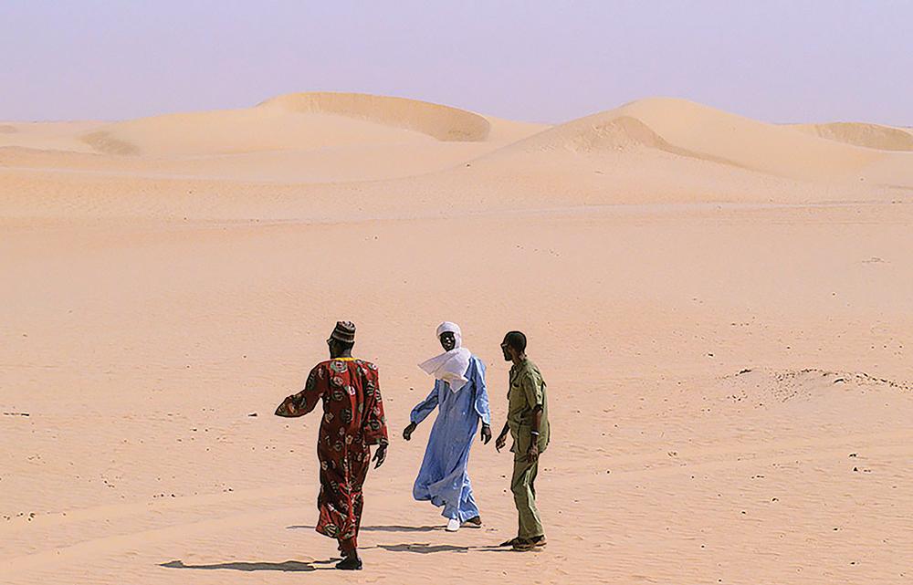 Desert encroachment