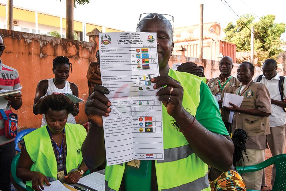 Electoral worker