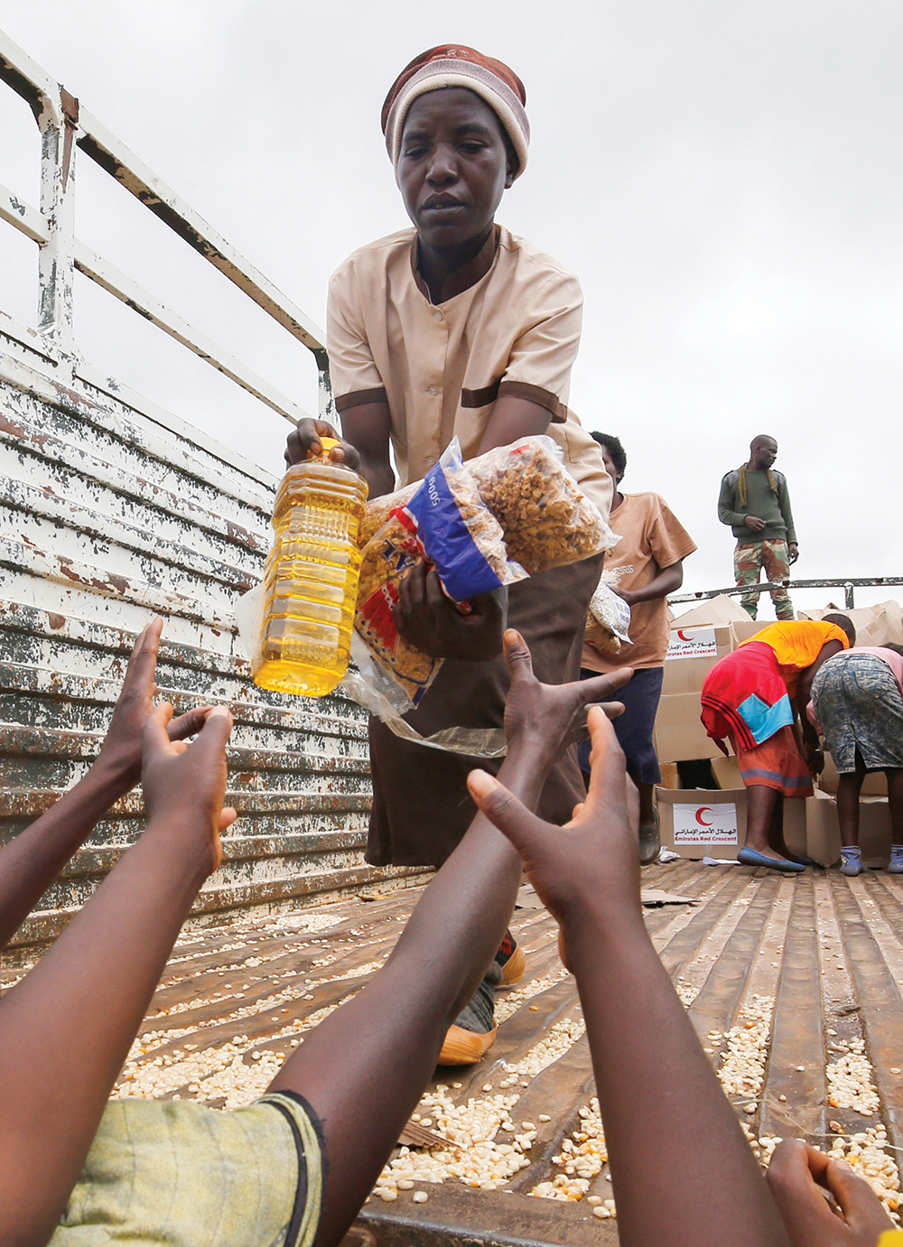 Food aid beneficiaries
