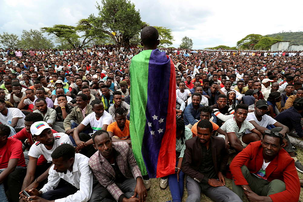 Sidama youth leader